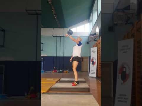 Ivana Goricki 24kg 101 reps @7th Bjelovar open