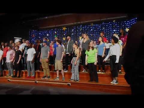 Alma Mater - Northwest Guilford High School Chorus (5/18/2018)