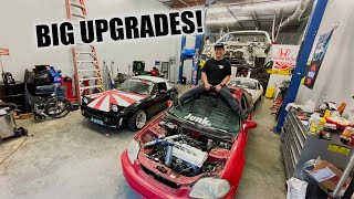 BIG UPGRADES ON THE RICER MIATA AND GSR READY FOR DYNO!