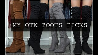 MY OVER THE KNEE BOOTS PICKS- 2018