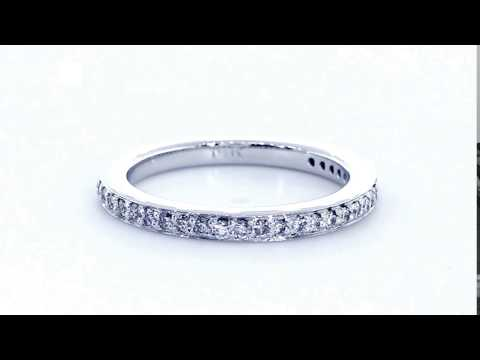 Matching Diamond Wedding Band, 0.20CT Total in 14k White Gold - Sziro EWK1668BW1