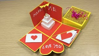 Valentines Day Explosion Box Learn Medical