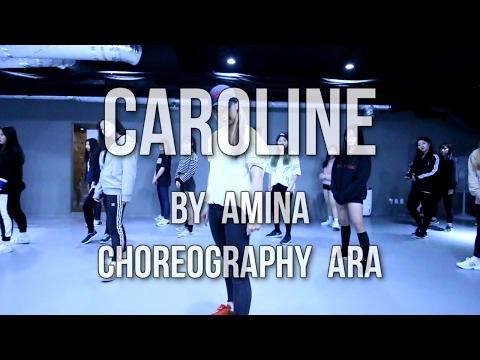 AMINA _ CAROLINE / GIRLS HIPHOP CLASS BY...