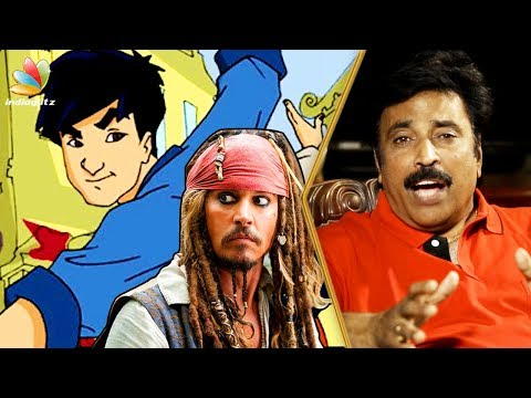 Jackie Chan & Jack Sparrow's Tamil Voice REVEALED | Dubbing Artist Muralikumar Interview