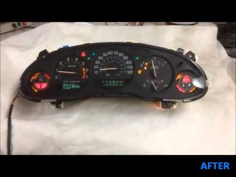 99 03 Buick Century Regal Common Display And Gauge Malfunction