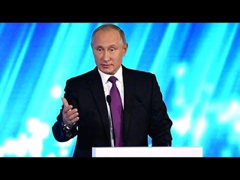 Выступление Путина 18.10.2018 смотреть онлайн