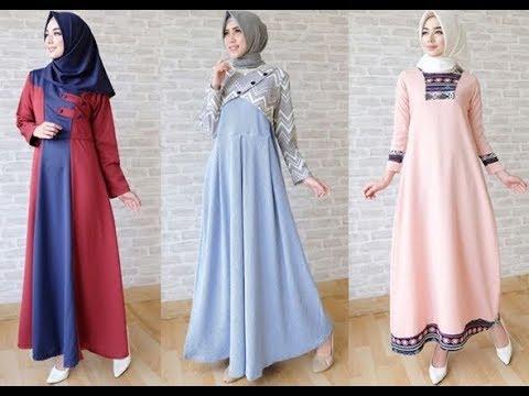 Trend Model Baju Muslim Lebaran Busana Muslim Terbaru 2018 Youtube