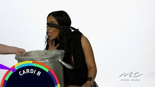 Cardi B - What's In My Mouth? || WARNING: Cat Food Eaten