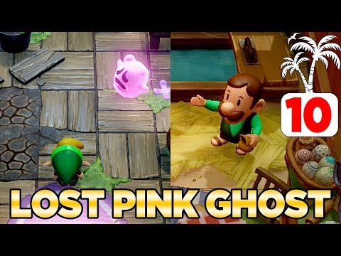 The Lost Pink Ghost Manbo S Warp Song In Link S Awakening