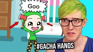 The Boy with AXES for HANDS?! | Reacting to Your #GachaHands Videos