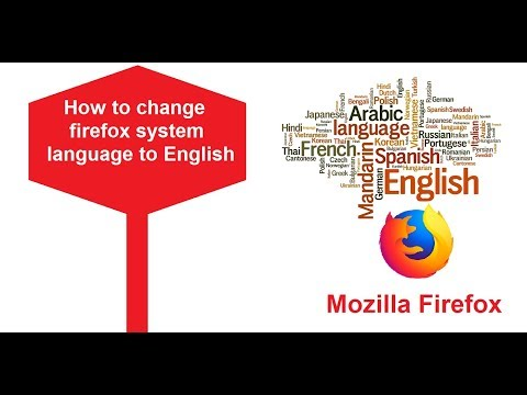 How To Change Language In Firefox Interface To English