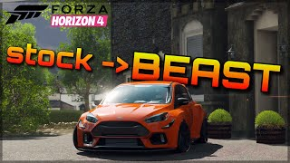 Forza Horizon 4   From stock to BEAST real quick!