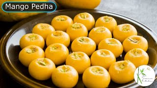 Kesar Mango Peda Recipe | Quick \u0026 Easy Mango Peda Recipe ~ Mango Delight S1 E9