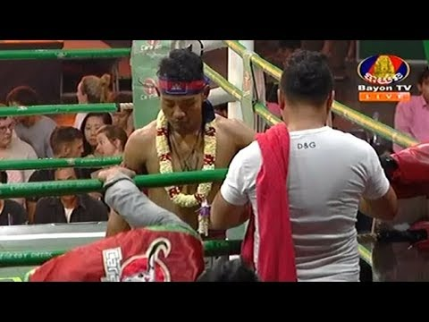 Phal Sophorn vs Chan Bunleap, Khmer Boxing Bayon 13 May 2018, Carabao Semi-Final