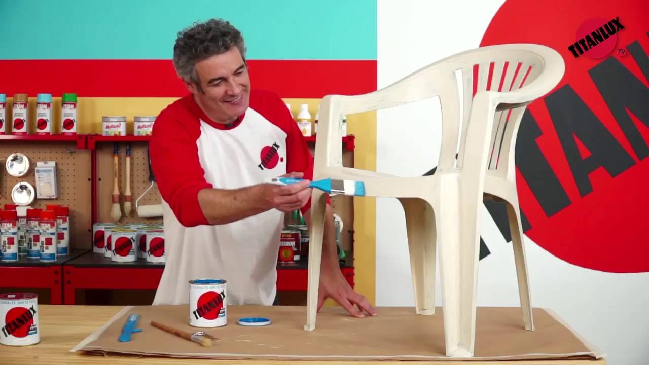 C mo pintar sobre pl stico youtube - Mesas para ninos de plastico ...