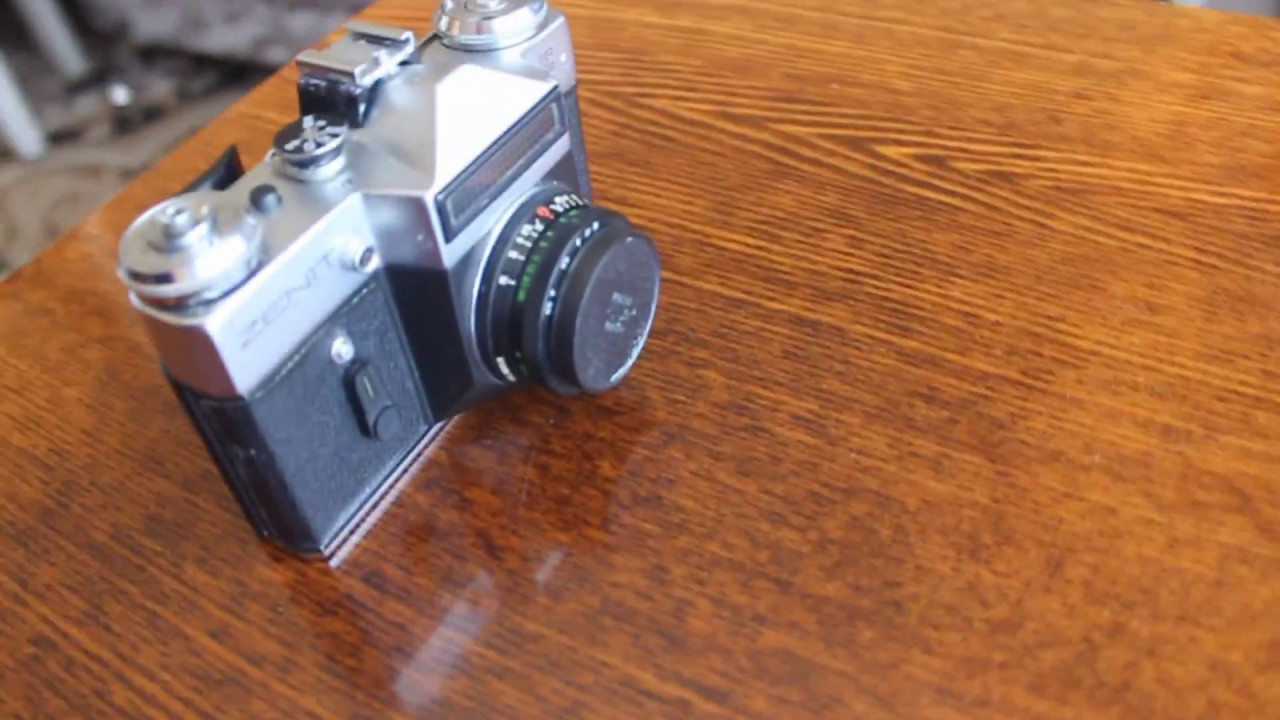 Ремонт фотоаппаратов зенит своими руками