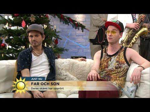 """Far & Son om barnmord: """"Vi ville chocksänka folks förtroende för oss"""" - Nyhetsmorgon (TV4)"""