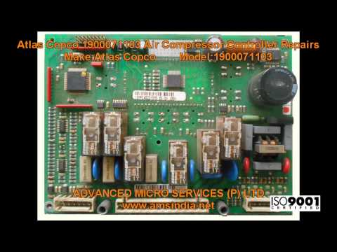 Atlas Copco 1900071103 Air Compressor Controller Repairs @ Advanced Micro Services Pvt.Ltd.