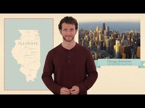 Illinois - 50 States - US Geography