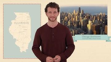 Illinois - 50 States - US Geography