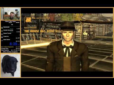 Fallout NV Any% Speedrun In 17:20