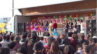 2012/12/16 高知県宿毛市パルティフジで行われたクリスマスイベントに地...