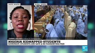 Nigeria kidnapping: Students are safe and no ransom was paid, governor says