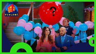 Vecinos: ¿El bebé de Silvia y Luis es niño o niña? | C8 T10 | Distrito Comedia
