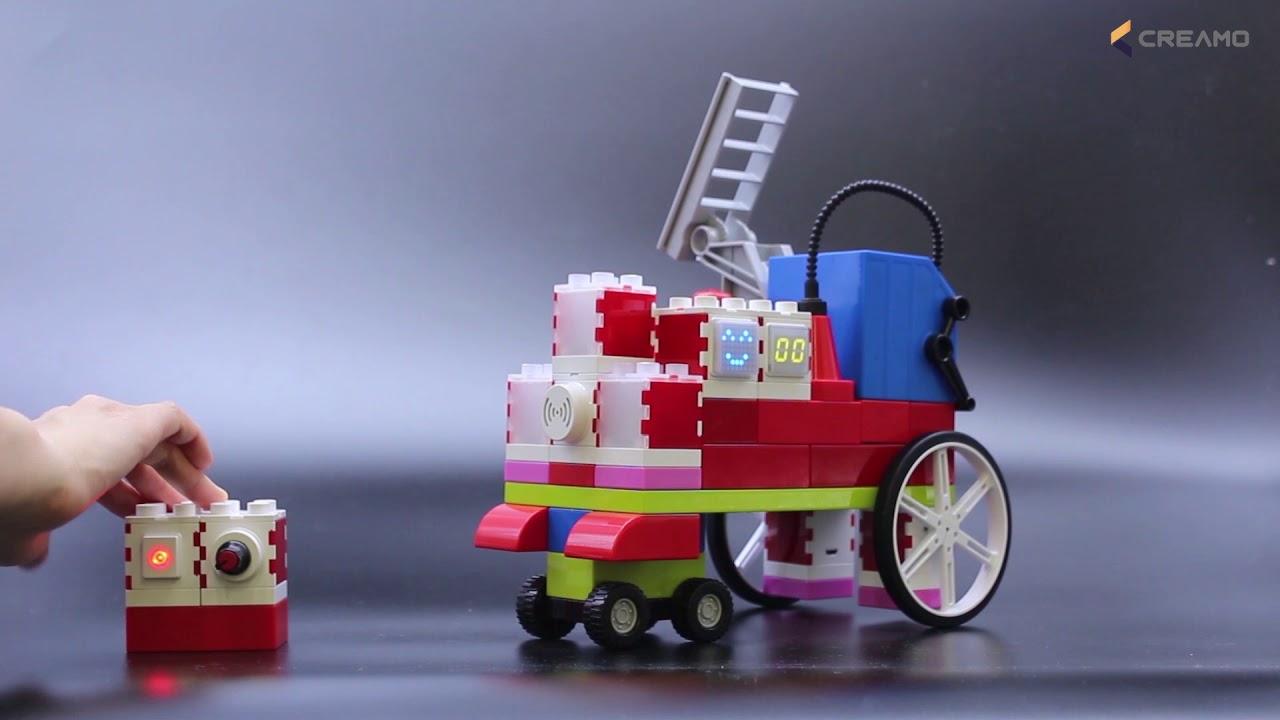 CREAMO SMART BLOCK - ADDI Block(Standard Kit)_Ladder truck