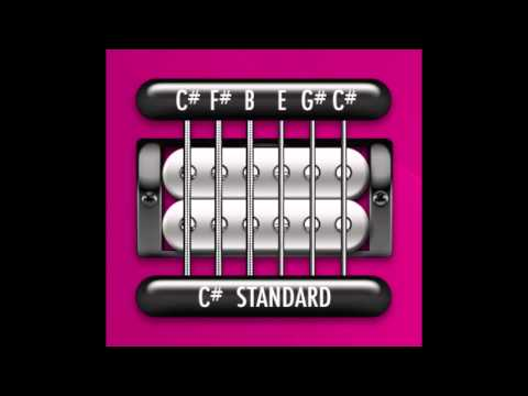 Perfect Guitar Tuner (C# / Db Standard)
