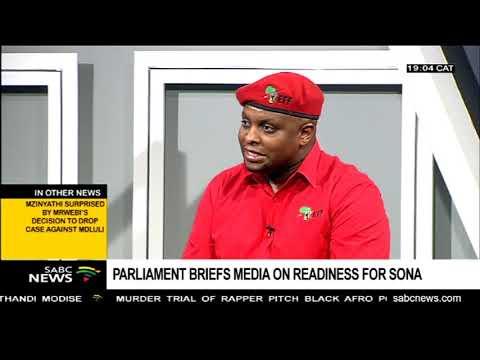 Zuma has not accepted invitation for SONA