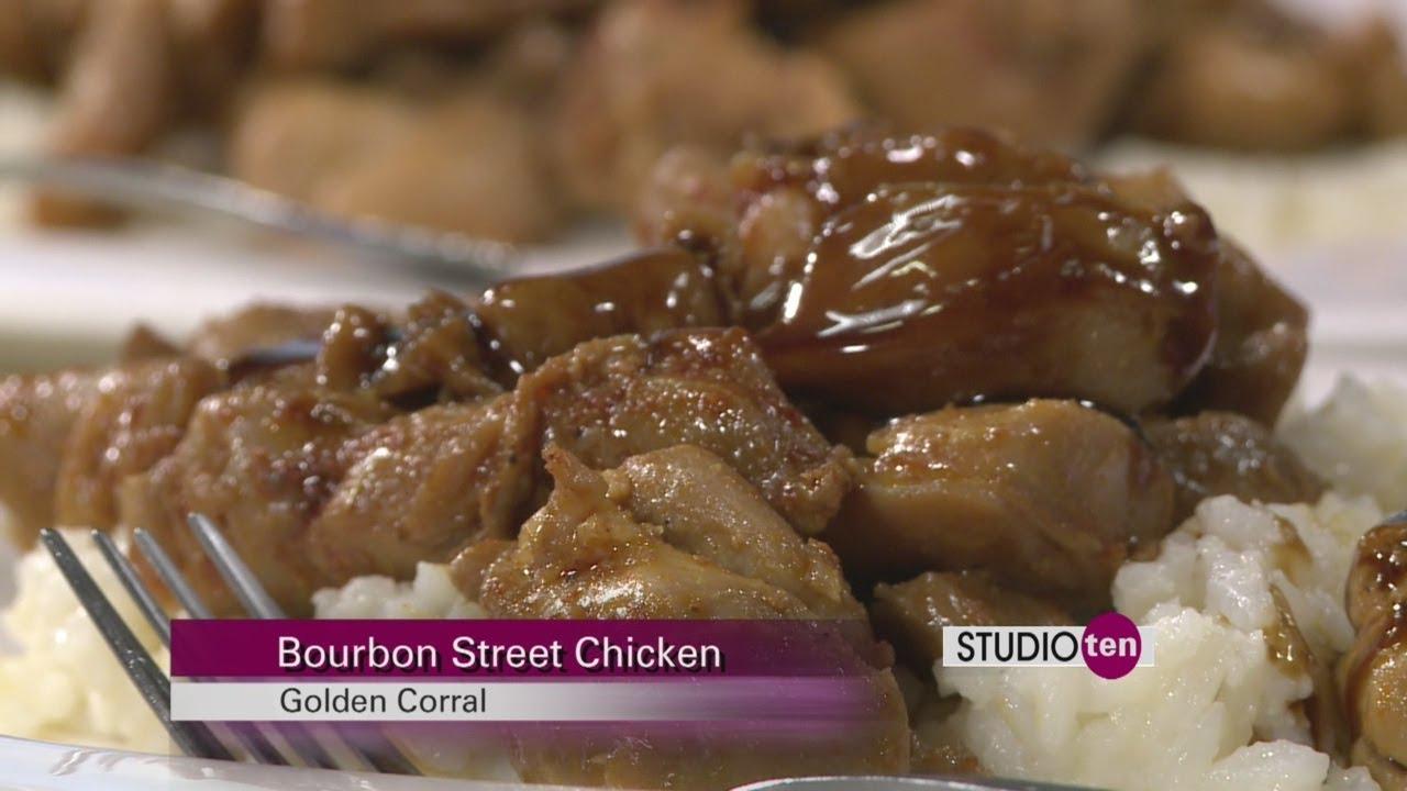 Studio 10 Bourbon Street Chicken Golden Corral Youtube
