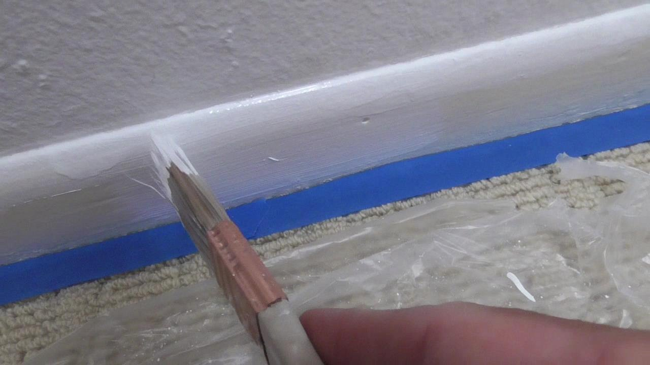 carpet paint. how to paint baseboard and not get on carpet