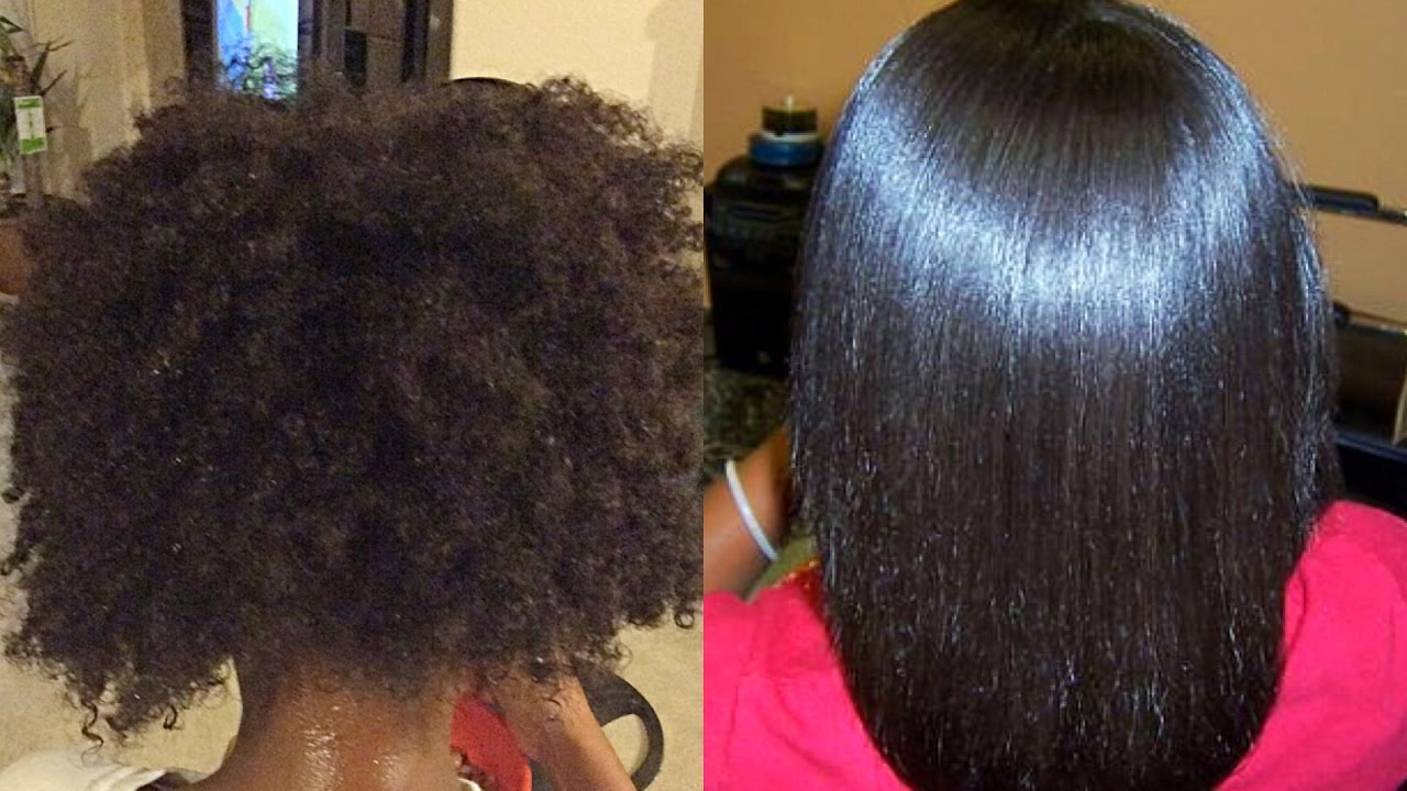Natural Hair Kid Styles The Perfect Flat Iron Press For Little Girls