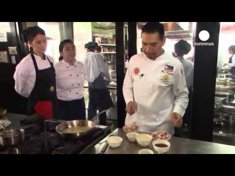 CHEF GENE COOKED ADOBONG PUTI WITH CACS STUDENTS