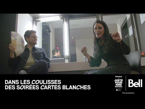 Bell présente DANS LES COULISSES DES SOIRÉES CARTES BLANCHES - avec Sam Cyr