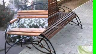 видео Недорогая кованая мебель