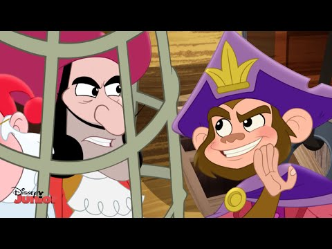 Jake and the Never Land Pirates | The Monkey Pirate King | Disney Junior UK