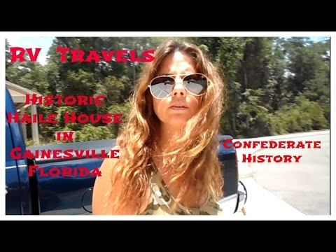 RV Travels to Historic Haile House Plantation in Gainesville Florida