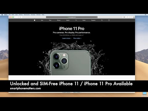 Unlocked And SIM-Free IPhone 11, 11 Pro, & 11 Pro Max Available