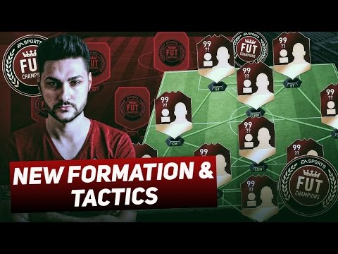 NEW OVERPOWERED FORMATION & TACTICS IN FIFA 17 - MY FUT CHAMPIONS JOURNEY  - THE KEY GAMES !