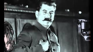 И. Сталин: выступление перед Стахановцами