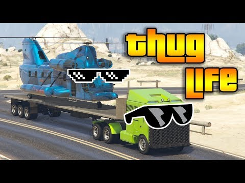 GTA 5 ONLINE : THUG LIFE AND FUNNY MOMENTS (WINS, STUNTS AND FAILS #20)