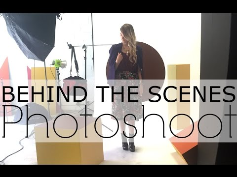 VLOG | On Set For My Photoshoot With Place D'Orleans