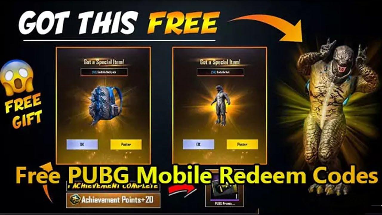 PUBG Mobile Redeem Code 18 August 2021