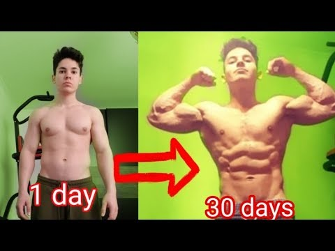 200 PUSH UPS A DAY FOR 30 DAYS CHALLENGE - Epic Body Transformation