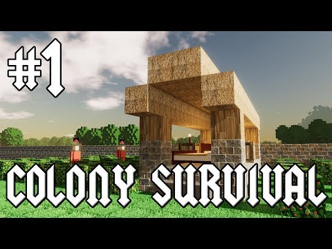 Colony Survival #1 - Quest for Wheat