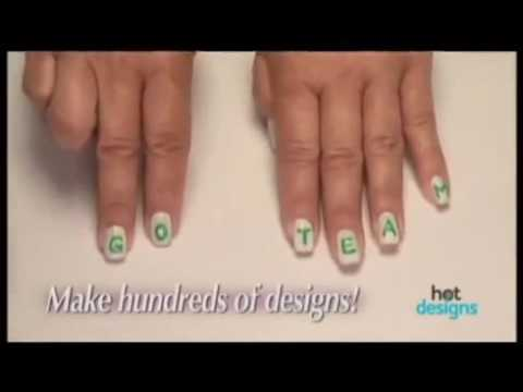 Hot Designs Commercial Hot Designs As Seen On Tv Nail Art Design Kit