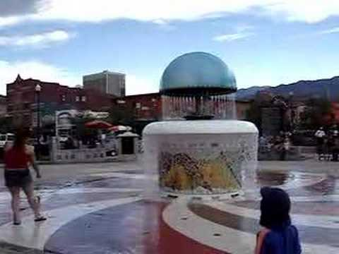 Uncle Wilber Fountain Colorado Springs