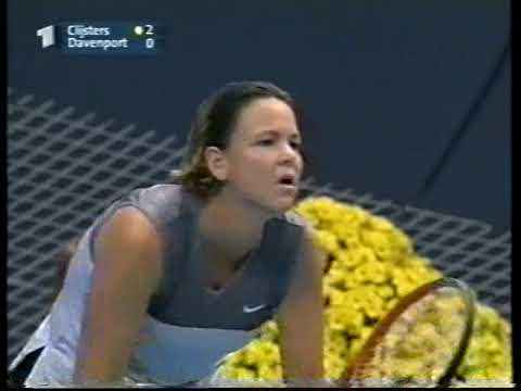 Semifinal Masters 2001 Davenport Clijsters